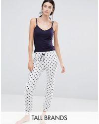 New Look - Blue Star Pyjama Set - Lyst