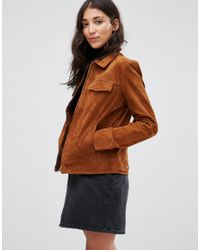 Pepe Jeans Multicolor Jessica Suede Shacket