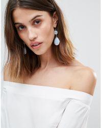 ALDO - White Edirerwen Drop Earrings - Lyst