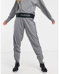 Calvin Klein Gray Knitted joggers