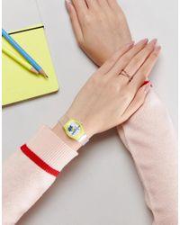 ASOS Multicolor Mini Flamingo Watch