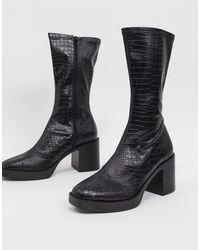 Public Desire Black – Generate – Robuste Stiefel