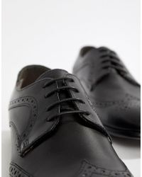 Red Tape - Brown Smart Brogues In Black for Men - Lyst