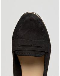 New Look Black Metal Detail Slip On Loafer