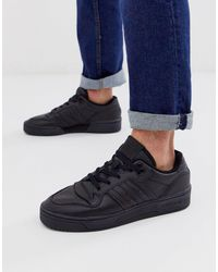 Adidas Originals Black Rivalry Low for men