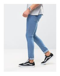 Only & Sons | Blue Extreme Super Skinny Jeans for Men | Lyst