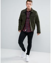 Jack & Jones Multicolor Checked Shirt With Short Sleeves for men