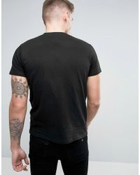 Brooklyn Supply Co. - Black Chevron T-shirt for Men - Lyst