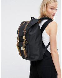 Herschel Supply Co. Black Little America Mid Volume Backpack With Tortoise Shell