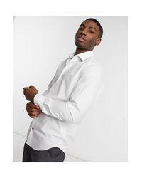 Camisa Tommy Hilfiger de hombre de color White