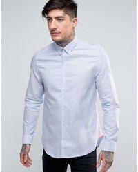 Ben Sherman | Blue Slim Fit Shirt for Men | Lyst