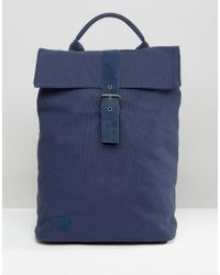 Mi-Pac | Blue Canvas Day Pack Backpack Navy for Men | Lyst