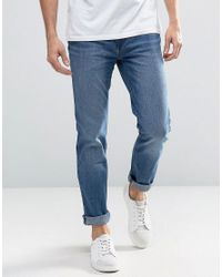 WÅVEN Slim Fit Jeans In Erasure Blue for men