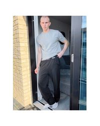 Черные Штаны От Пижамы ASOS для него, цвет: Multicolor