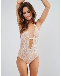 L'Agent by Agent Provocateur Pink Siena Body