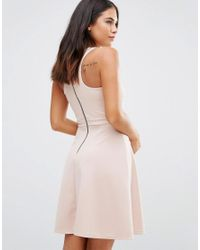Wal-G - Pink Skater Dress - Lyst