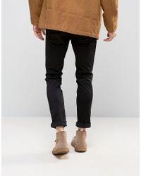 HUGO Black By Boss 734 Skinny Jeans Satin Finish for men