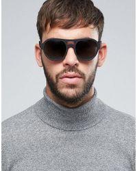 Marc Jacobs Black Marc By Visor Sunglasses Mmj 481/s for men