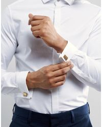 French Connection - Metallic Cufflinks for Men - Lyst