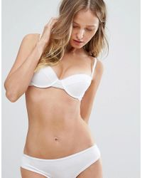 Ultimo | White Lori Balcony Bra A-d Cup | Lyst