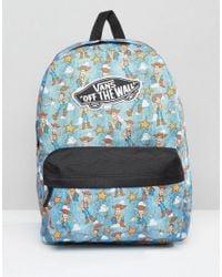 Vans | Multicolor Toy Story Backpack In Woody Print | Lyst