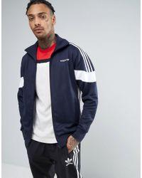 Adidas Originals Blue Clr84 Track Jacket In Navy Bk5912 for men