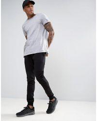 Produkt Black Joggers With Panel Detailing for men
