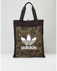 Adidas Originals | Black Shopper Bag In Camo Bk2153 for Men | Lyst