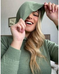 Худи Цвета Хаки В Рубчик -зеленый Fashionkilla, цвет: Green