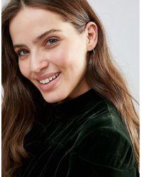 Ashiana - Metallic Mis Matched Hoop Earrings - Lyst