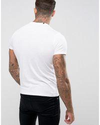 Replay White Motorbike T-shirt for men