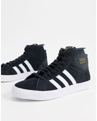 Baskets montantes en daim Adidas Originals pour homme en coloris Black