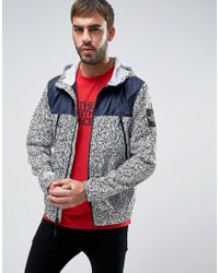 The North Face | White 1990 Mountain Jacket 2 Tone In Rain Camo Print for Men | Lyst