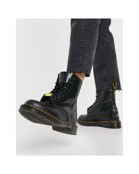 Черные Ботинки Keith Haring 1460-черный Цвет Dr. Martens, цвет: Black