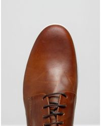 Dune - Brown Barny Leather Shoes for Men - Lyst