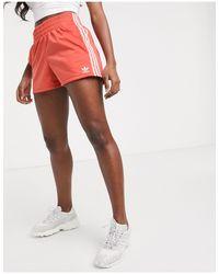 Adidas Originals Black Adicolor Three Stripe Shorts