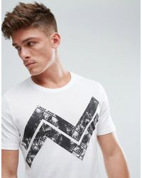 Only & Sons Black T-shirt With Graphic for men