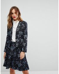 huge discount 07408 b39ff MAX&Co. Max&co Parma Floral Blazer Co-ord - Lyst