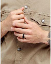 Icon Brand - Knott Ring In Black for Men - Lyst