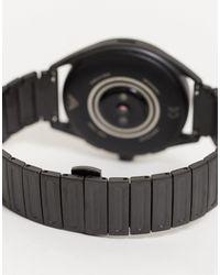 Черные Смартчасы Из Нержавеющей Стали С Сенсорным Экраном -черный Emporio Armani для него, цвет: Black