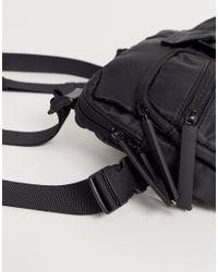 Bershka Black Chest Bag for men