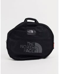 The North Face Black Base Camp Small Duffel Bag for men
