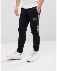Jack & Jones - Black Core Jogger With Branding for Men - Lyst