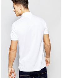 Tommy Hilfiger - Polo In Slim Fit White for Men - Lyst