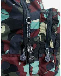 Камуфляжный Рюкзак -серый Kipling для него, цвет: Gray