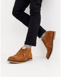 Светло-коричневые Замшевые Ботинки Original Penguin для него, цвет: Brown
