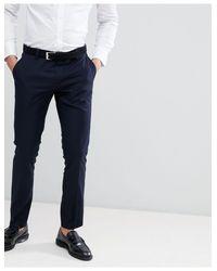 Antony Morato Blue Slim Fit Suit Trouser for men