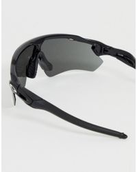 Gafas de sol negras con lentes negras de prisma Radar EV Path Oakley de hombre de color Black