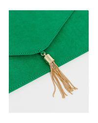 Pochette con nappe di ASOS in Green