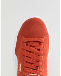 PUMA - Suede Sneakers In Orange - Lyst